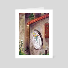 Travel series - Malaysia - Art Card by Josie's Illustrations