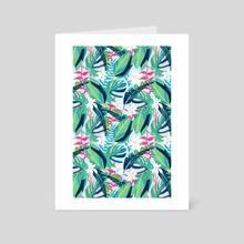 Tropical Eye Candy - Art Card by 83 Oranges