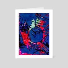 Colbalt - Art Card by Nathalia Coleman