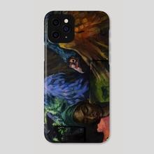 Vultures - Phone Case by Barbara Kozaczkiewicz