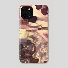 Faerie Court - Phone Case by Zach Hill