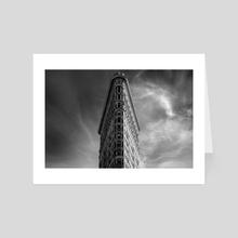 Flatiron Building - Art Card by Brian Fisher