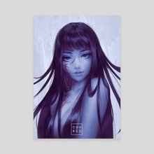 Tomie  - Canvas by osh RED