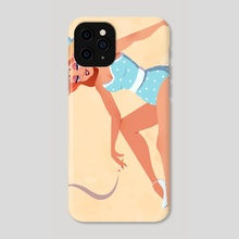 Beachy Pinup - Phone Case by Brittany Shively