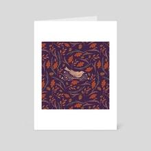 Songbird - Art Card by Sean Rogers