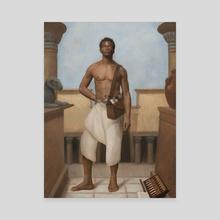 Egyptian Geometry - Canvas by Arthur Haywood