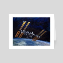 International Space Station - Art Card by Jason Cheeseman-Meyer