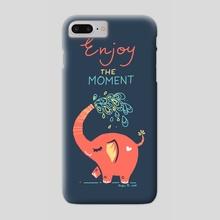 Enjoy the Moment - Phone Case by Indré Bankauskaité