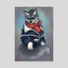 Sheep's Clothing - Canvas by Leah Fuhrman