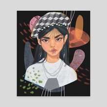 Jennie - Canvas by Prinzavocado
