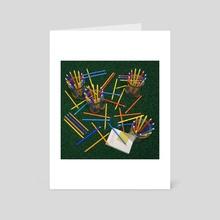 MIKADO - Art Card by juan aguirre