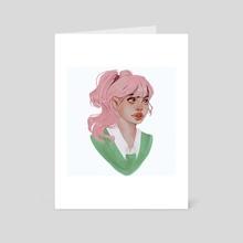 Marcella - Art Card by Beatrix Covaci