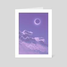 eclipse - Art Card by Shari Coté