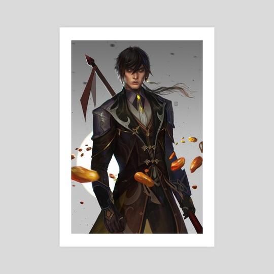 Zhongli - Genshin Impact by Lisa
