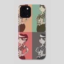 Pompadour - Phone Case by David Celli