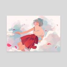 Freefalling - Canvas by jauni