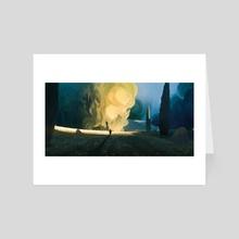 The shepherd - Art Card by Florian Aupetit