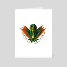 Hummingbird Warrior - Art Card by Kosme