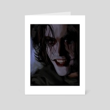 The Crow - Art Card by Nick Rubio