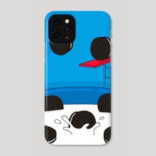 Oreo Pool Party - Phone Case by Pineapple Art