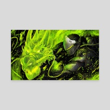 Genji - Overwatch - Canvas by Anastasia Su