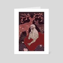 Rose Alraune  - Art Card by Dawn Carr