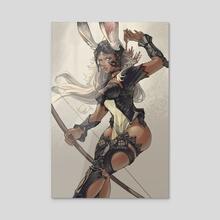 Fran Eruyt (Final Fantasy) - Acrylic by Serim Choi