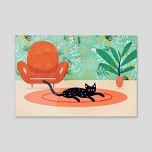 Boho Cat - Acrylic by 83 Oranges