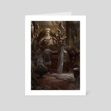 Taurus - Art Card by Lius Lasahido