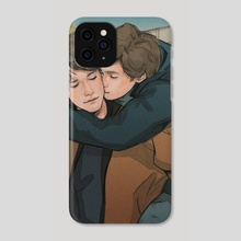 With you - Phone Case by Andy Nápoles