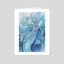 Angelfish 2 - Art Card by Caeles