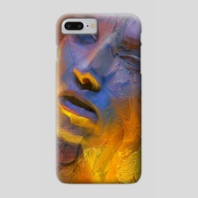 she - Phone Case by john mark
