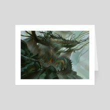 The Glades - Art Card by Even Mehl Amundsen