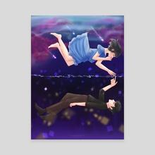 Unrequited - Canvas by digitalpastel