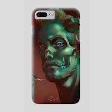 Dart devil - Phone Case by Elise Baron