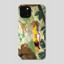 Sloth Jungle  - Phone Case by Jamie Nicole