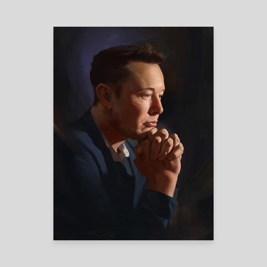Elon Musk by Jordan Jardine