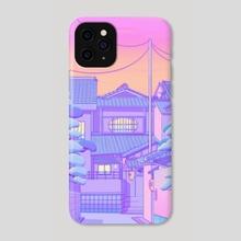 Kyoto Walk - Phone Case by Elora Pautrat
