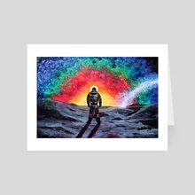 Cosmic rainbow - Art Card by Anna Shapovalova