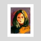 Head #4 - Art Print by Rorie Ciriaco