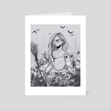 Nature Witch - Art Card by Angelica Fatourou