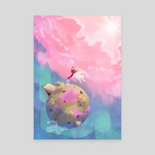 little world - Canvas by Momo