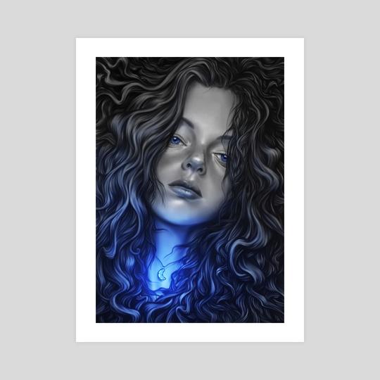 REGINA and the blue moon by Giordano Aita