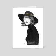(2016) Inktober 15 - Art Card by Paulette  Jo
