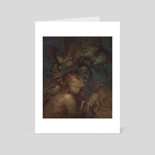 Well, would you look at that. - Art Card by Peter (Apterus) Polach