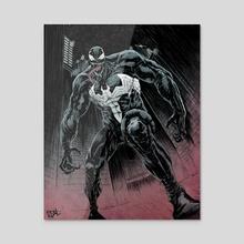 Venom - Acrylic by Jose  Real