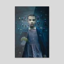 Eleven - Acrylic by erik hodson