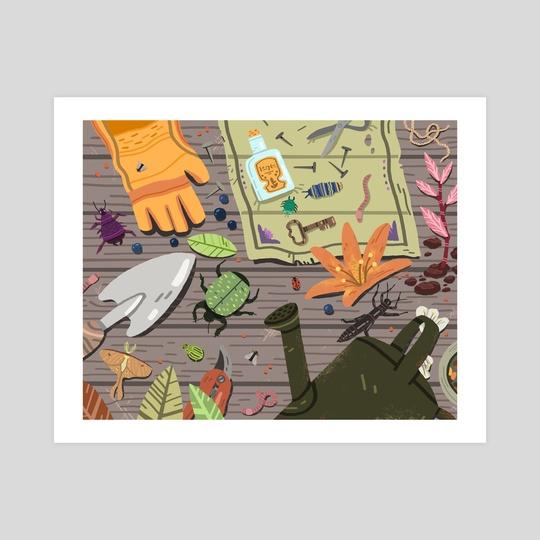 Greenhouse bugs by Vivvian