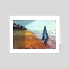 Maldives - Art Card by Alexander Zienko