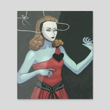 Sweet Jane - Acrylic by Noelle McClanahan Broughton